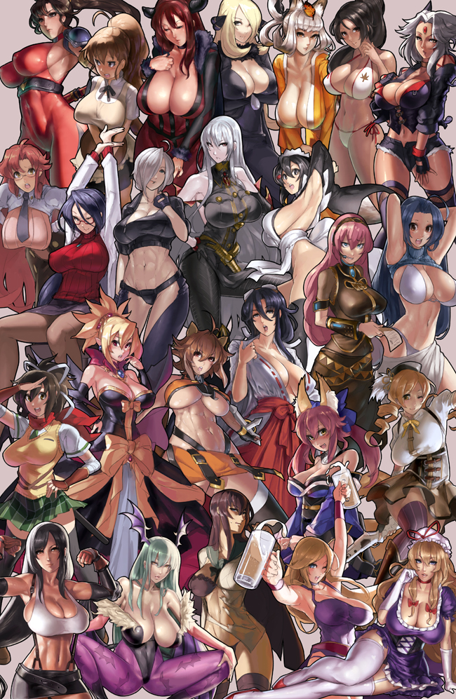 girl characters the dead highschool of Fist of the north star lin
