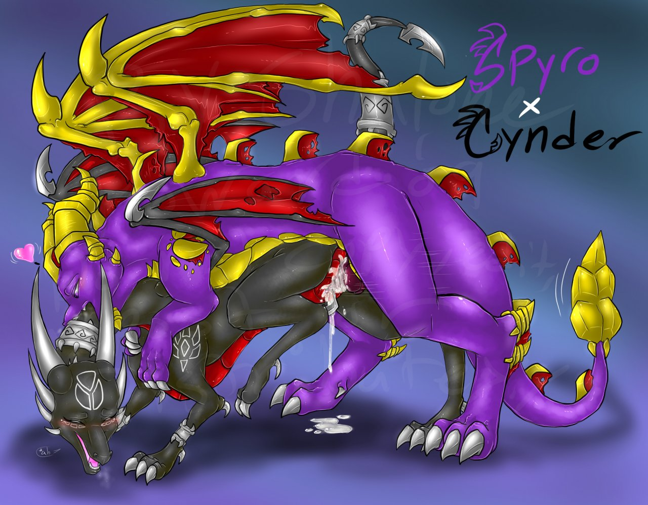 spyro and herpy mating cynder Saints row 4 naked girl