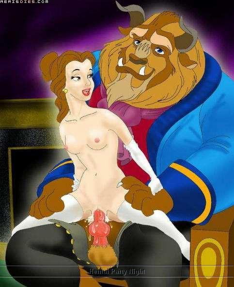 and belle beauty the pregnant beast High school d&d