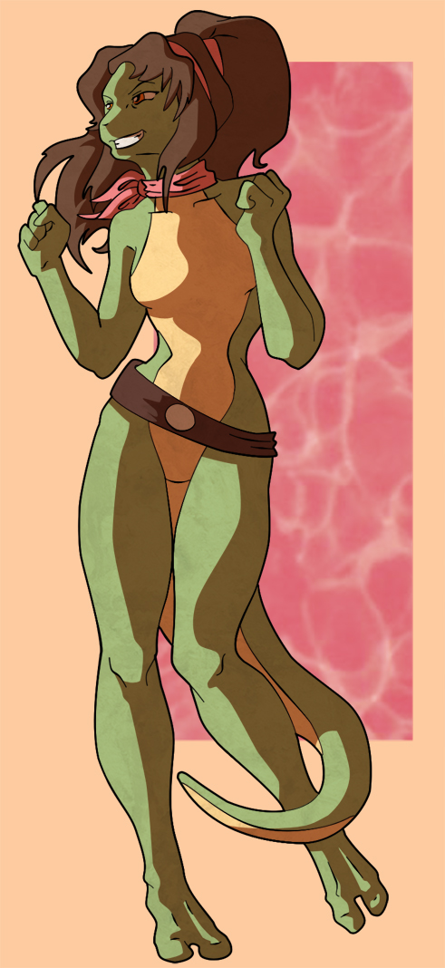 and mona raphael lisa tmnt Nude pictures of harley quinn