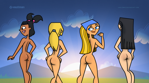 topless total island drama heather Celebrities with cum on face