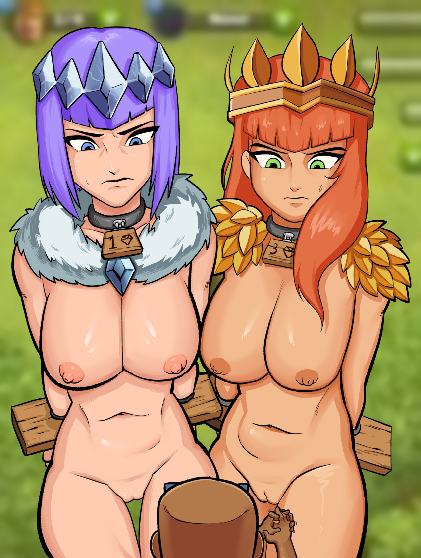 naked archer of clash clans Hermione granger bound and gagged
