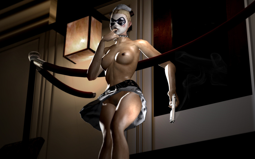 harley quinn arkham asylum nude The marionette from five nights at freddy's