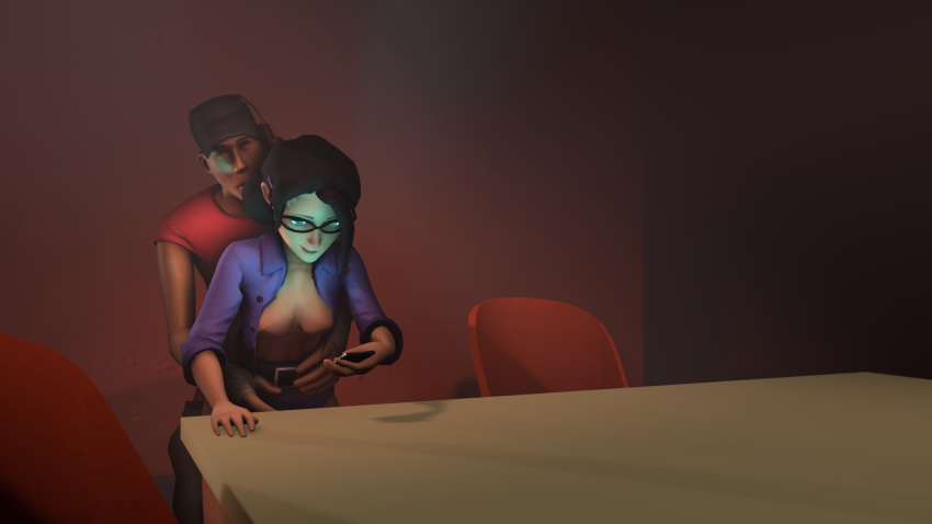 and tf2 miss pauling scout White claw scooby doo meme