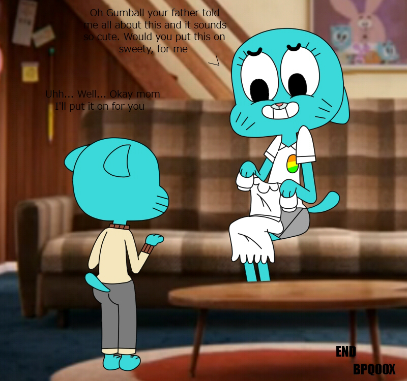 world the amazing of gumball leslie Scooby doo crystal and amber