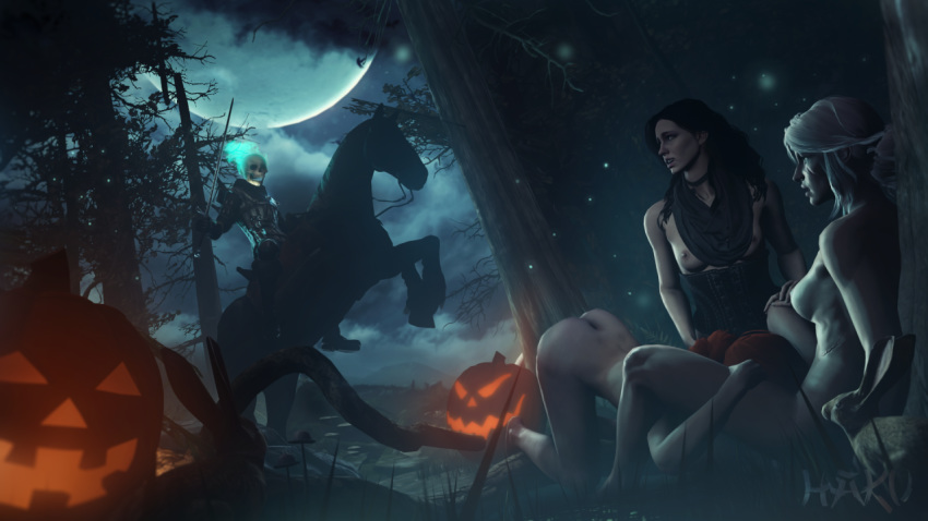 witcher triss merigold 3 nude Cthulhu pirates of the caribbean